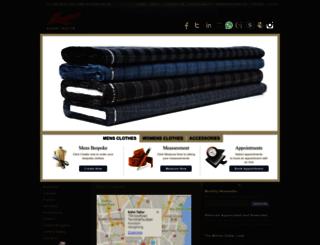 kahntailors.com screenshot