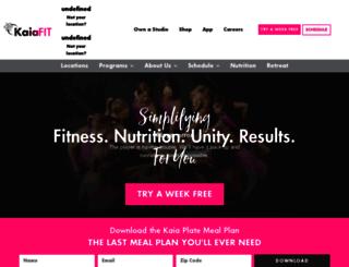 kaiafit.com screenshot