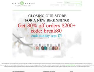 kaiahouse.com screenshot