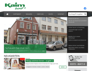 kaim-bringts.de screenshot