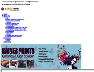 kaiservitals.com screenshot