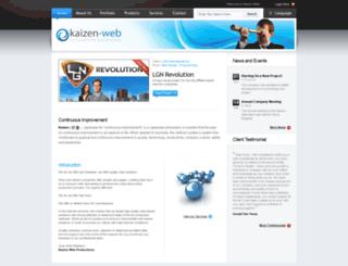 kaizen-web.com screenshot