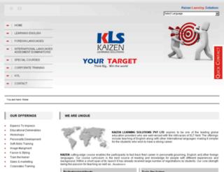 kaizenls.org screenshot