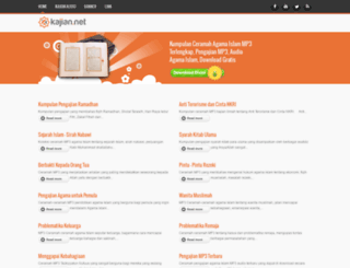 kajian.net screenshot
