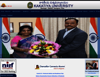 kakatiya.ac.in screenshot