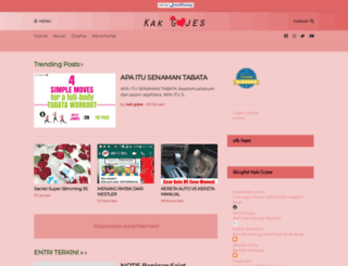 kakgojes.com screenshot