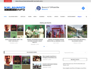 kalahandi.info screenshot