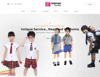 kalaivanitextiles.com screenshot