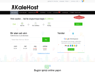 kalehost.net screenshot