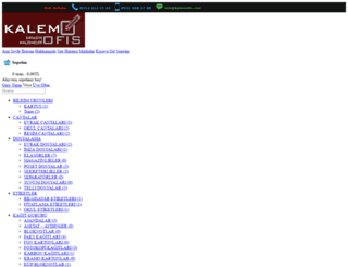 kalemofis.com screenshot