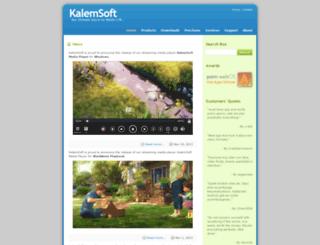 kalemsoft.com screenshot