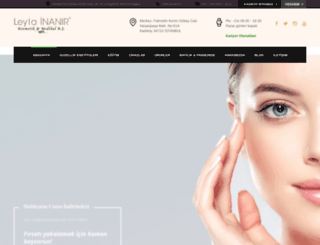 kalicimakyajmerkezi.com screenshot