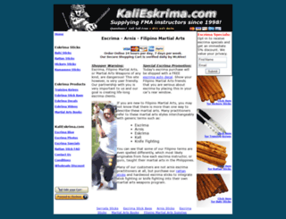 kalieskrima.com screenshot