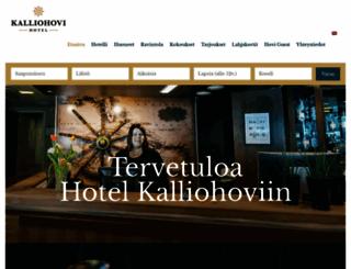kalliohovi.fi screenshot