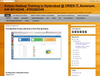 kalyanhadooptraining.com screenshot