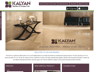 kalyanmarble.com screenshot