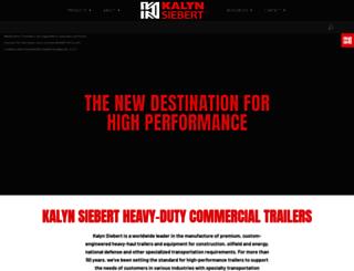 kalynsiebert.com screenshot