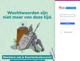 kamaaseik.smartschool.be screenshot