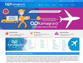 kamagra.biz screenshot
