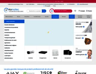 kamatec.fr screenshot