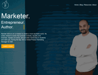 kameelvohra.com screenshot