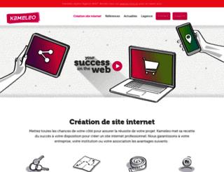 kameleo.ch screenshot