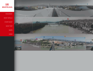 kamery.bratislava.sk screenshot