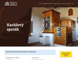 kamna-konig.cz screenshot