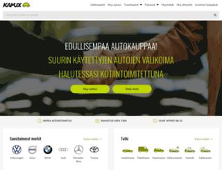 kamux.fi screenshot