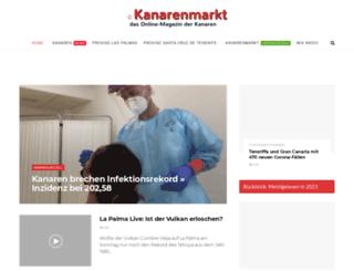 kanarenmarkt.de screenshot