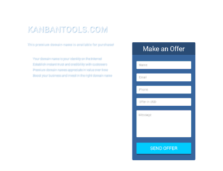 kanbantools.com screenshot
