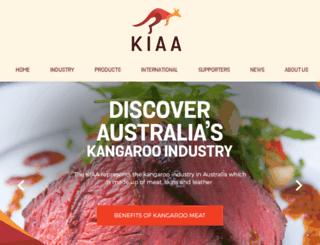 kangaroo-industry.asn.au screenshot