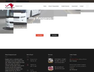 kangaroocoach.com screenshot