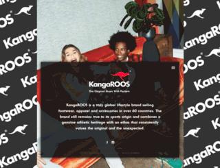 kangaroos.com screenshot