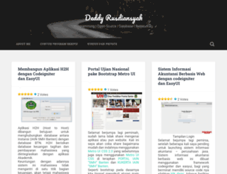 kangdeddy.wordpress.com screenshot