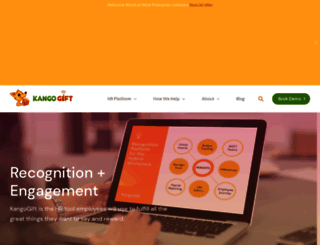 kangogift.com screenshot