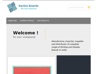 kanicoboards.in screenshot