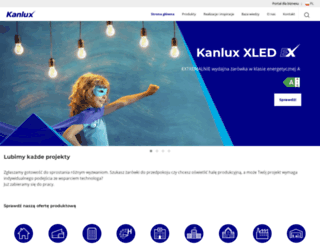 kanlux.com screenshot
