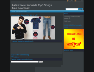 kannadageethe.blogspot.in screenshot