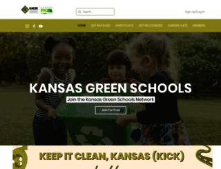 kansasgreenschools.org screenshot
