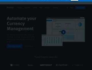 kantox.com screenshot