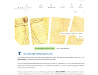kanzlei-pfeifer.de screenshot