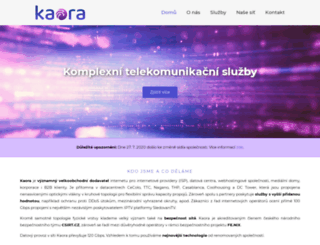 kaora.cz screenshot