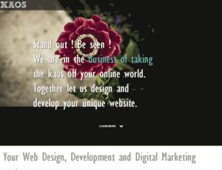 kaos.com.hk screenshot