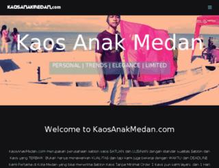 kaosanakmedan.com screenshot