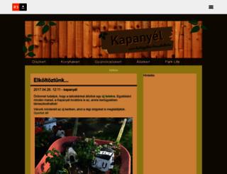 kapanyel.reblog.hu screenshot