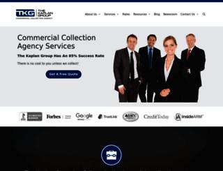 kaplancollectionagency.com screenshot