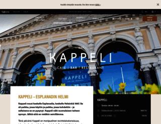 kappeli.fi screenshot