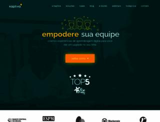 kaptiva.com.br screenshot