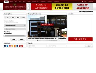 karaikudiproperties.com screenshot